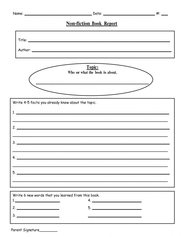 4th Grade Book Report Template Awesome Book Template Doc Sazak Mouldings Co