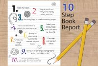 4th Grade Book Report Template New 10 Steps to Writing A Succesful Book Report
