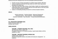 5th Grade Graduation Certificate Template New Curriculum Planning Template Certification Teacher Resume Example