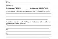 6th Grade Book Report Template Unique Book Template Doc Sazak Mouldings Co