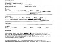 Accident Report form Template Uk Unique Police Report Example Meetpaulryan
