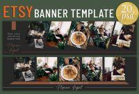 Adobe Photoshop Banner Templates Unique Etsy Banner Template Web Elements Creative Market