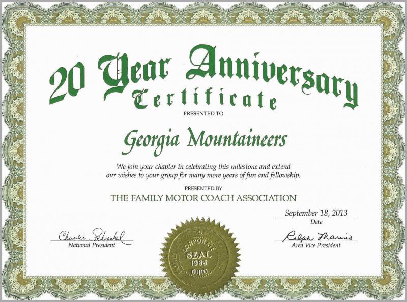 Anniversary Certificate Template Free Unique Work Anniversary Certificate Template