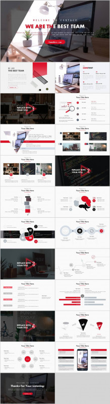 Annual Report Ppt Template Awesome Best Team Work Business Report Powerpoint Template Pcslide Com