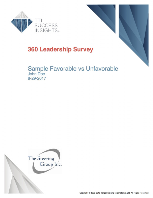 Annual Review Report Template New Organizational Development 360a The Steering Group
