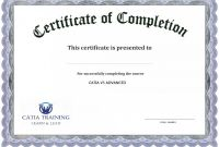 Army Certificate Of Completion Template Unique 013 Certificate Of Completion Word Template Free Certificates forte
