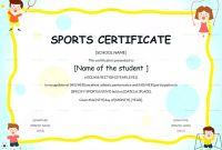 Athletic Certificate Template New soccer Participation Certificates Sazak Mouldings Co