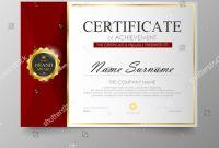 Award Certificate Design Template New Certificate Template Awards Diploma Stock Photo 526691539 Avopix Com
