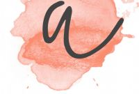 Banner Cut Out Template Awesome Coral Watercolor Banner Free Printable for Insta Coral
