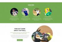 Baseball Scouting Report Template Unique softball Website Templates Template Type Author Cowboy Downloads 7
