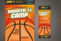 Basketball Camp Certificate Template Unique Basketball Camp Template Maco Palmex Co