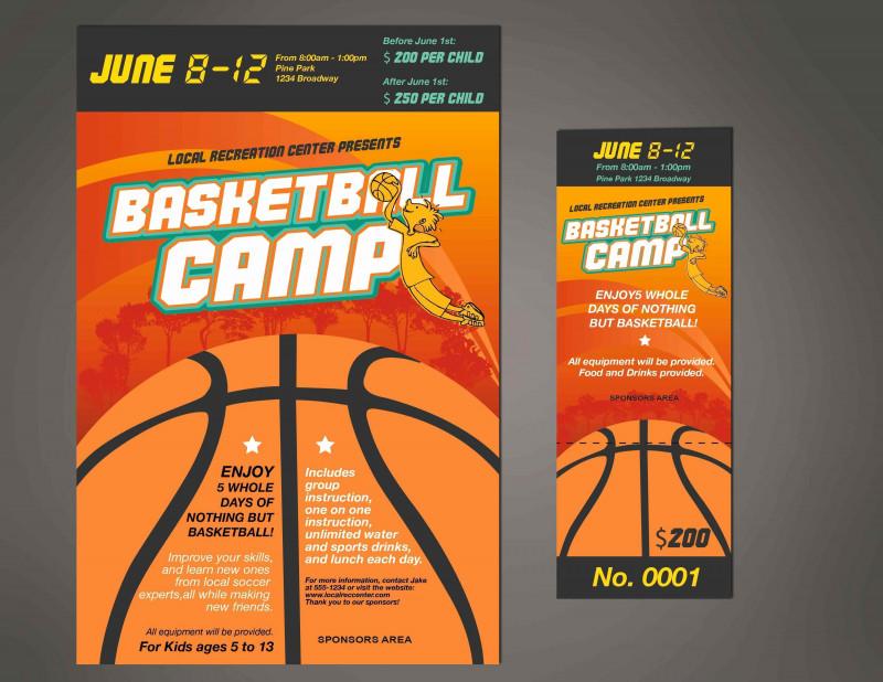 Basketball Camp Certificate Template