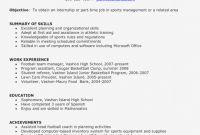 Basketball Camp Certificate Template Unique Writing the Perfect Resume Inspirationa Beautiful Development Resume