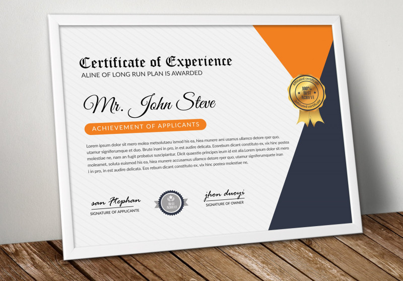 Best Performance Certificate Template Awesome Word Format Certificate Template Stationery Templates Creative
