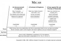 Biography Book Report Template Unique Book Of Micah Overview Insight for Living Ministries
