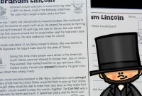 Book Report Template 2nd Grade Professional Free Reading Passage Abraham Lincoln for Kids the Measured Mom