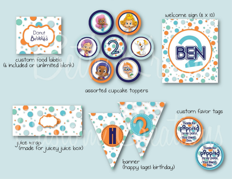 Bubble Guppies Birthday Banner Template Awesome Bubble Guppies Stencils HTML In Kubadaky Github Com Source Code