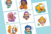 Bubble Guppies Birthday Banner Template New Bubble Guppies 1st Birthday Invitations High Quality 2nd Party I