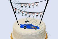 Cars Birthday Banner Template Awesome Custom Name Race Car theme Cake Banner Birthday Party Etsy