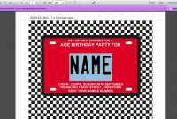 Cars Birthday Banner Template New Birthday Invitations for Adults Templates Collections Of Minnie