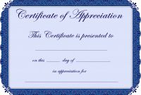 Certificate Of Appreciation Template Free Printable New Meredith Prince Shemayah11 On Pinterest