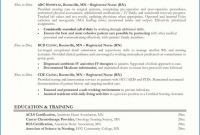 Certificate Of Manufacture Template New Nursing Resume Examples Sample Resumes by Joyce Unique Experienced