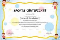 Certificate Templates for School Unique Sports Day Certificate Template Cablo Commongroundsapex Co
