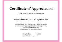Certificates Of Appreciation Template Unique Nice Sample Certificate Of Appreciation Images 30 Free