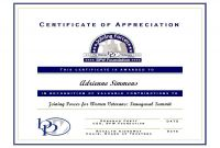 Certificates Of Appreciation Template Unique Sample Certificate Of Recognition for Parents Mandanlibrary org
