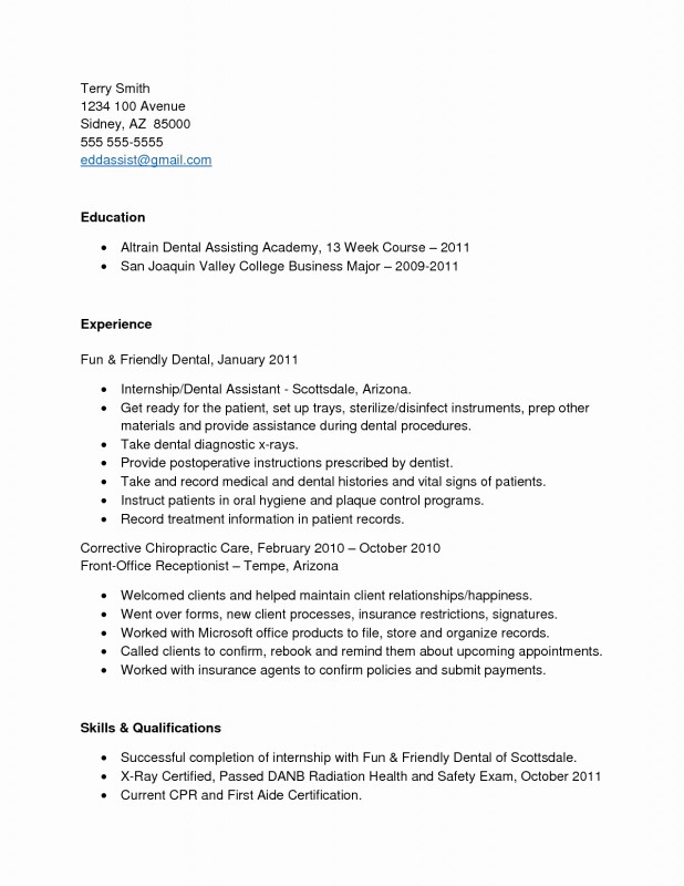 Chiropractic X Ray Report Template Unique 12 13 Entry Level Dental Hygiene Resume Lascazuelasphilly Com