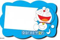 Christening Banner Template Free New Free Printable Doraemon Birthday Invitations Bagvania Free