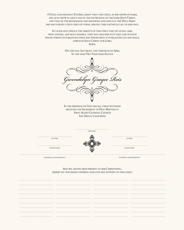 Christian Baptism Certificate Template Awesome Christening Certificate Maco Palmex Co