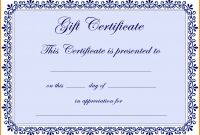 Christmas Gift Certificate Template Free Download Awesome Free Gift Certificate Template Word 2007 Gift Ideas