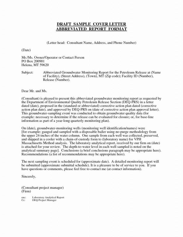 Closure Report Template Unique Marketing Letter Sample
