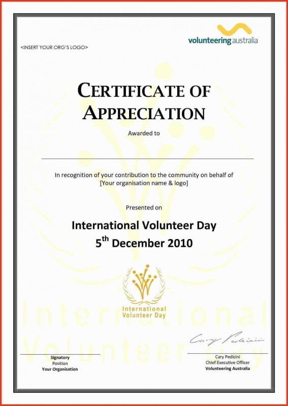 Commemorative Certificate Template New Appreciation Certificate Examples Form Template Letter Format For