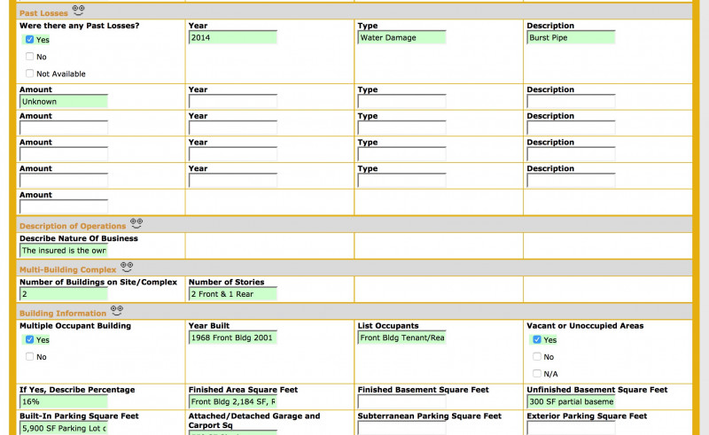 Commercial Property Inspection Report Template Unique Ezinspections Sample Inspection Forms Inspection Checklists And