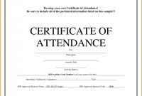 Conference Certificate Of attendance Template Awesome Certificate Templates for Word PHP Certificate Of attendance