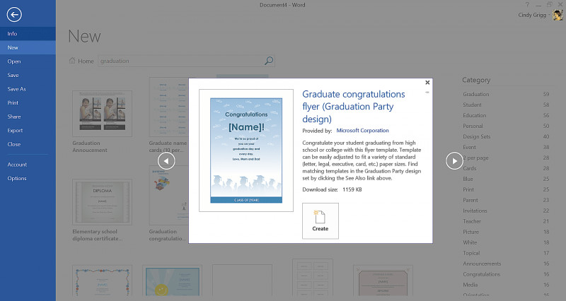 Congratulations Certificate Word Template Unique Get Microsofts Best Graduation Templates
