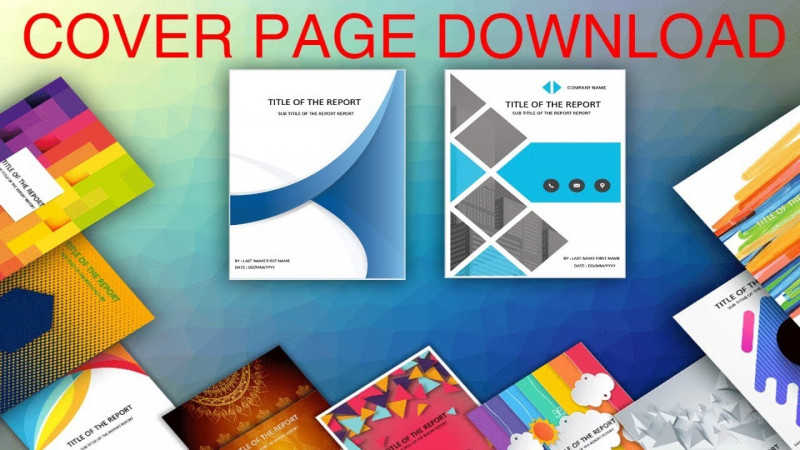 Cover Page For Annual Report Template Professional 012 Word Cover Pages Template Excellent Ideas Ms Report Page
