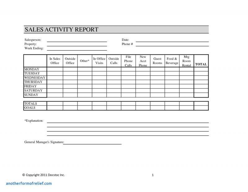 Customer Visit Report Format Templates Professional Sales Call Report Template Excel My Spreadsheet Templates