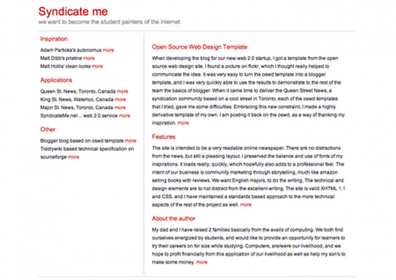 Customer Visit Report Template Free Download New 80 Free 2 Column Website Templates