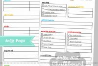 Daily Work Report Template New Daily Rk Schedule format In Excel Template Report to Boss Smorad