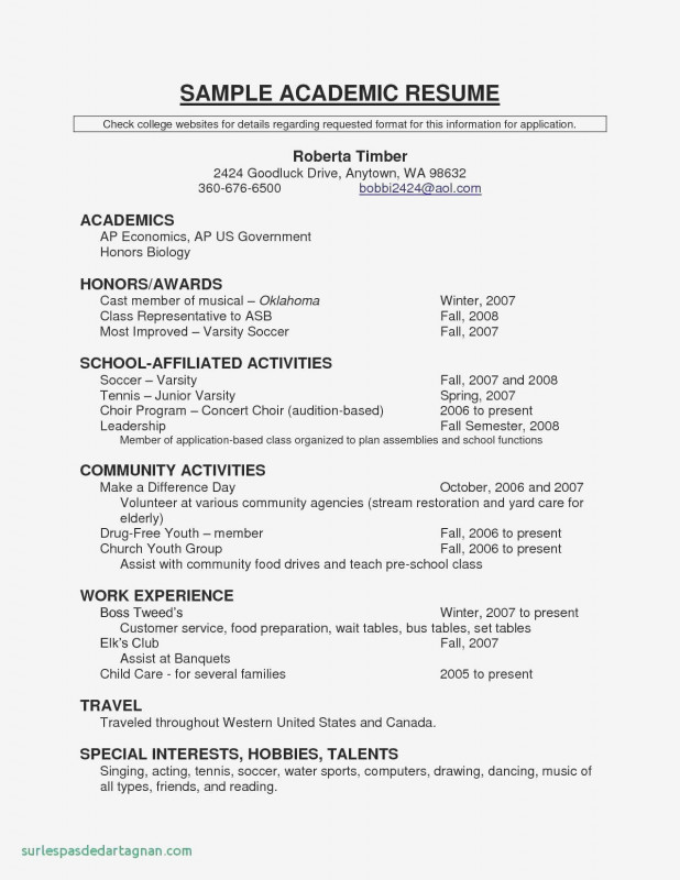 Dance Certificate Template New Resume Samples In Canada Valid Music Resume Template Musician