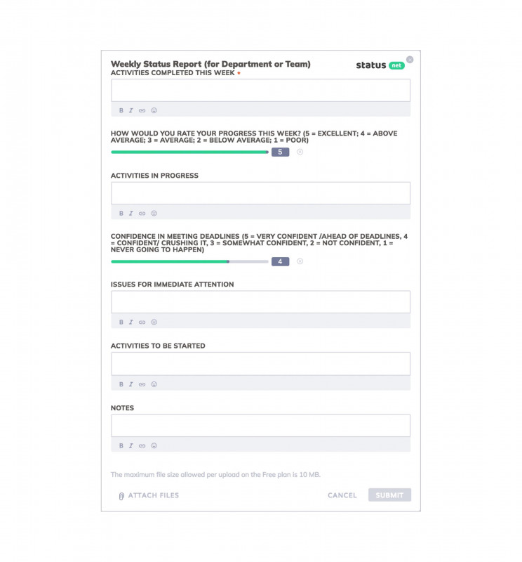 Development Status Report Template Unique Business Plan Progress Report Template Word Weekly Simple An