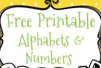 Diy Birthday Banner Template Unique Free Printable Letters and Numbers for Crafts