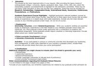 Doctorate Certificate Template Awesome Graduate School Sample Resumes Navy Resume for Graduate School