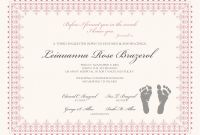 Editable Birth Certificate Template Unique Certificate Of Dedication Saroz Rabionetassociats Com