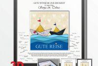 Electrical Installation Test Certificate Template New Bilderrahmen Hochzeit Ga¤stebuch Schiffe Reise Amazon De Handmade