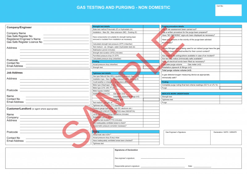 Electrical Installation Test Certificate Template Unique Certificates Everycert