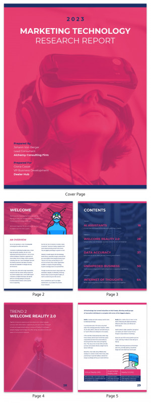 Engineering Lab Report Template Awesome 19 Consulting Report Templates That Every Consultant Needs Venngage